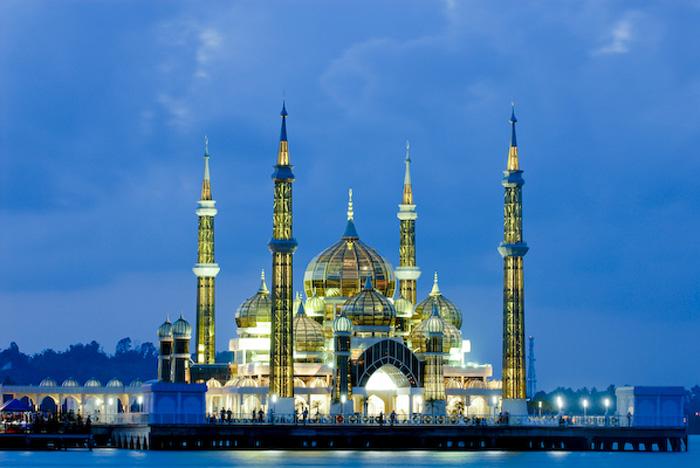 Crystal Mosque, Kuala Trengganu, Malaysia
