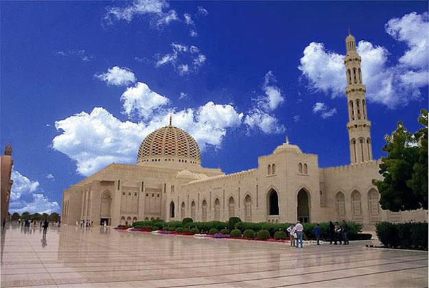 Sultan Qaboos Masjid, Muscat, Oman