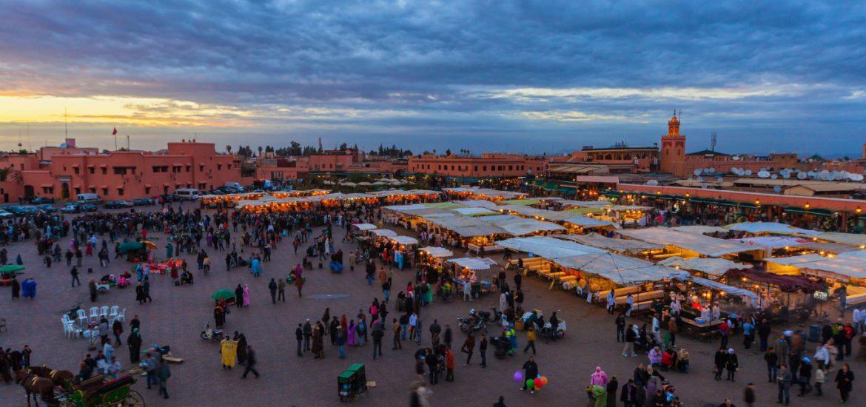 Jamaa-el-Fna-Marrakech