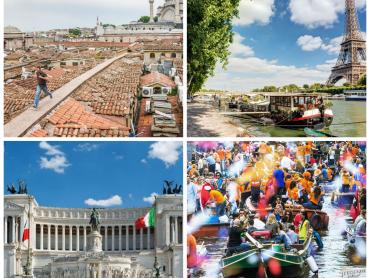 أفضل 5 مدن اوروبية للسفر في صيف 2016