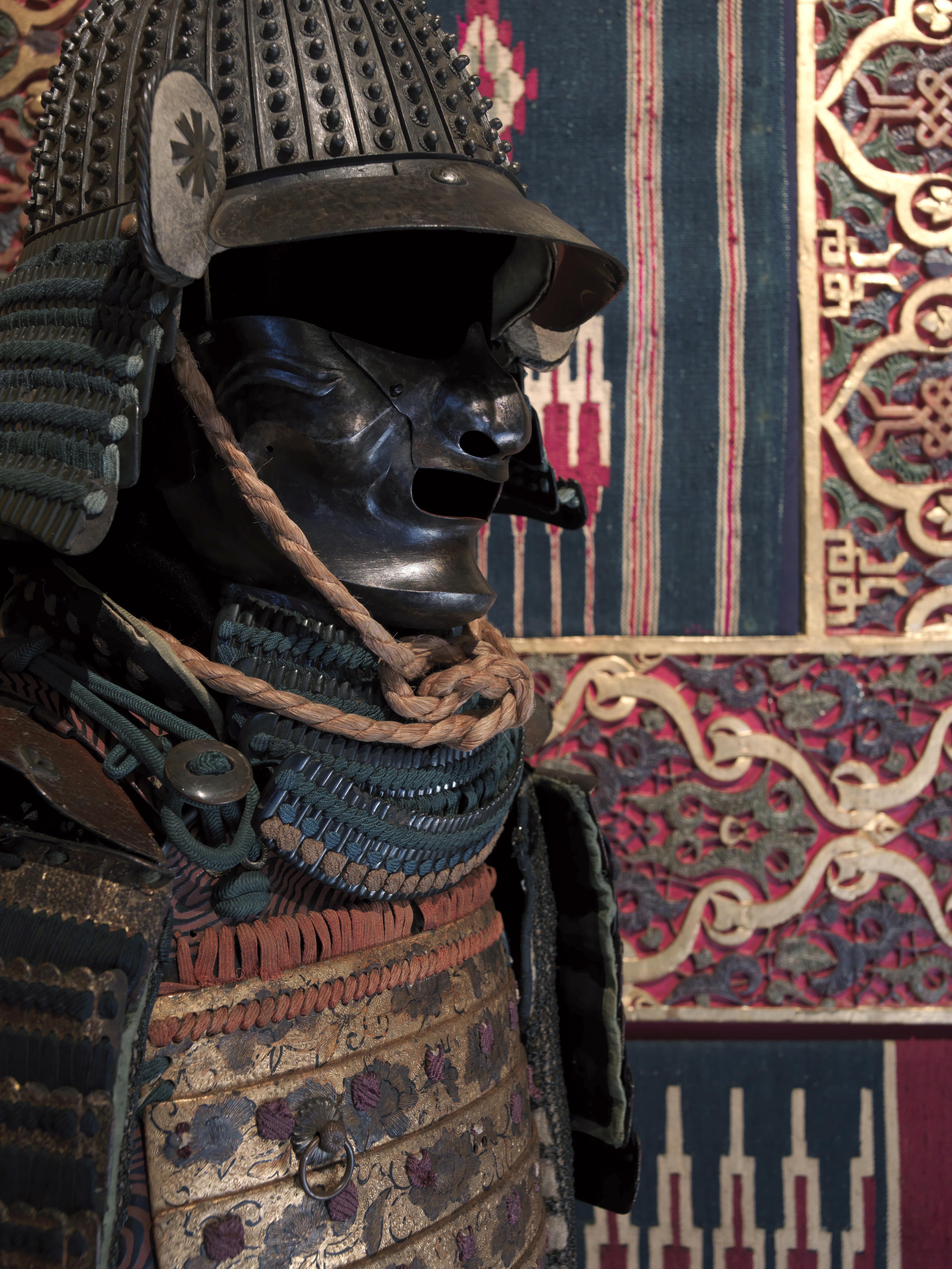 armaduras japonesas, museo cerralbo