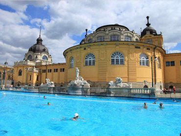 Budapest, ciudad de fuentes termales