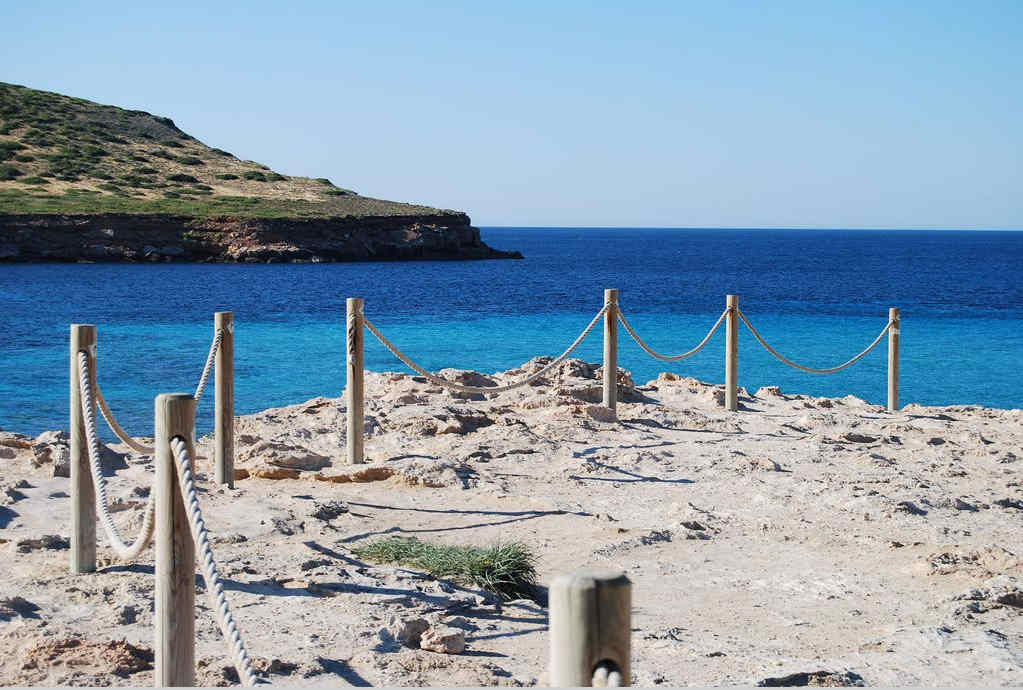 Playas Baleares Cala Comte