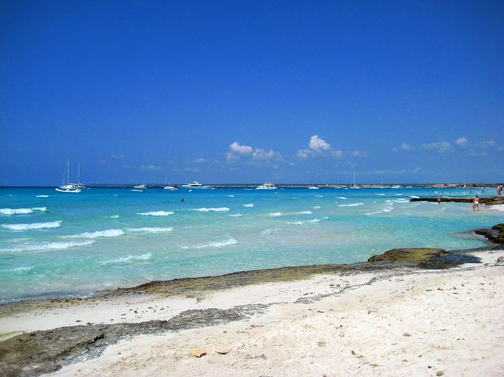 Playas Baleres Platja d'es Trenc