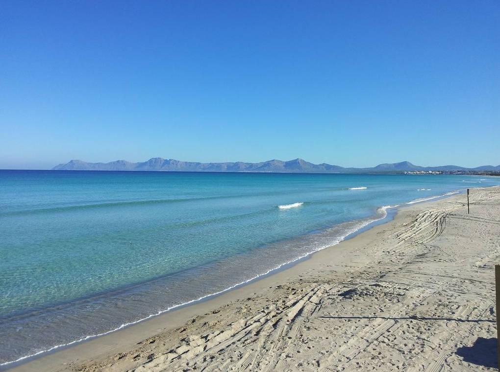 Playas Baleares Playa Muro
