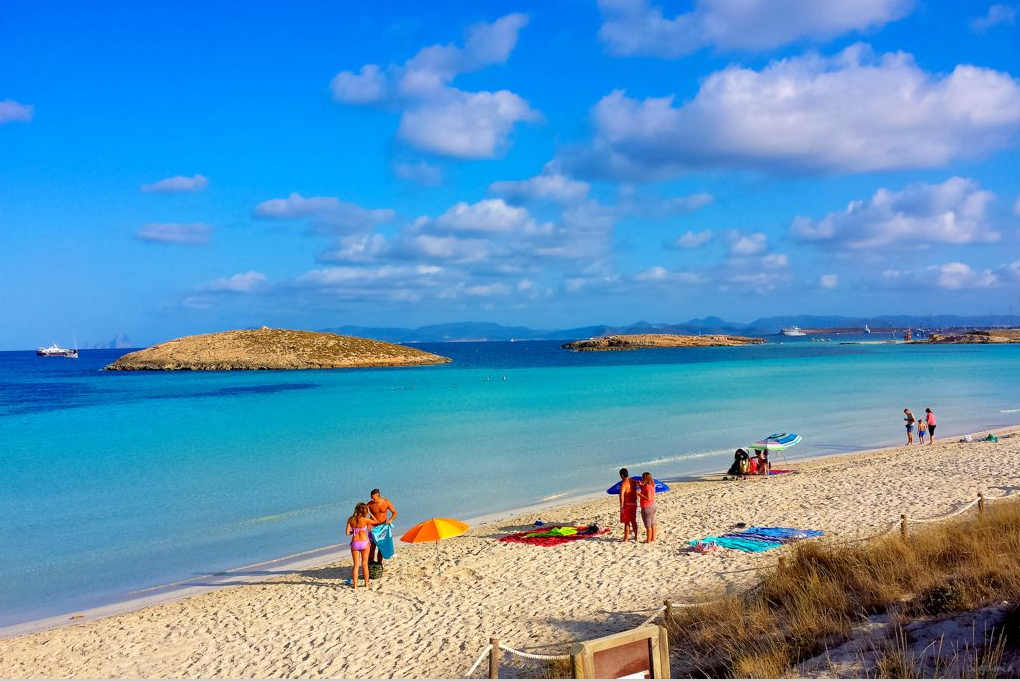 Playas Baleares Ses Illetes