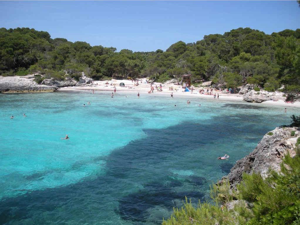 Playas Baleares Cala en Turqueta