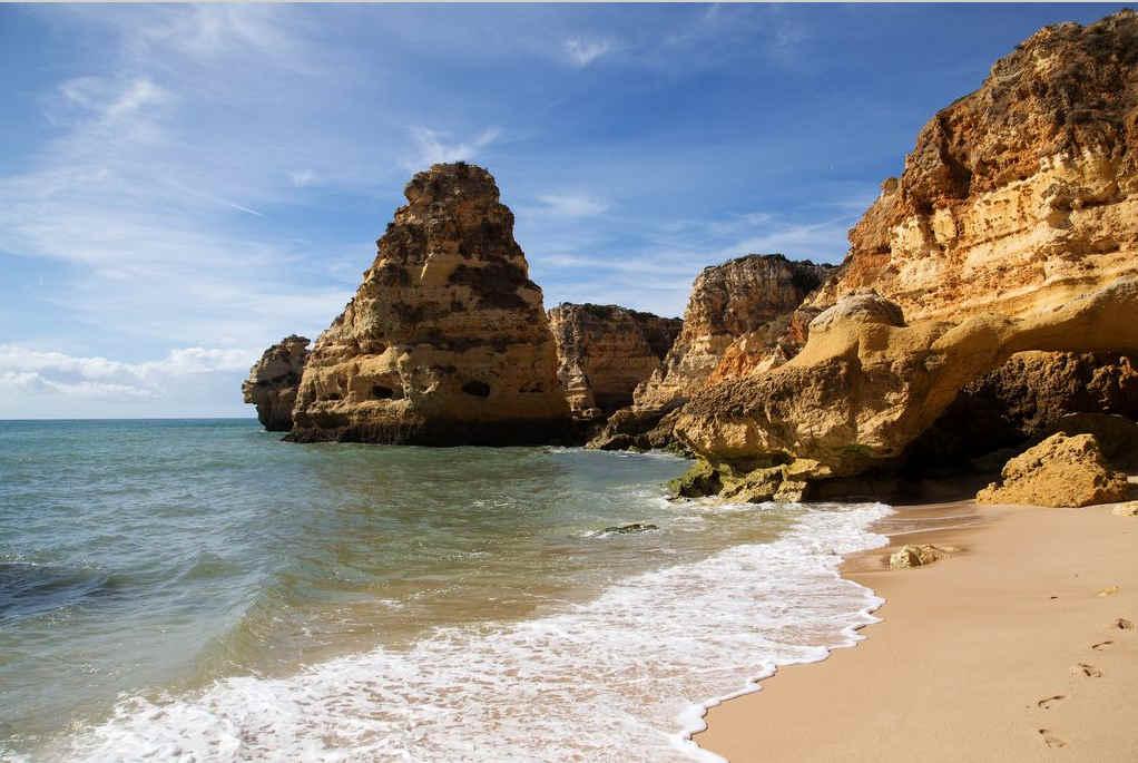 Playas-más-bonitas-del-Algarve-La-Marinha