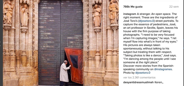 El sevillano anónimo que superaba los  70.000 seguidores en Instagram 1