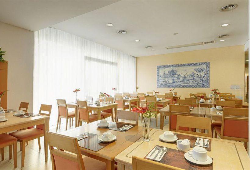comedor-del-hotel-tryp-porto-centro-en-Oporto