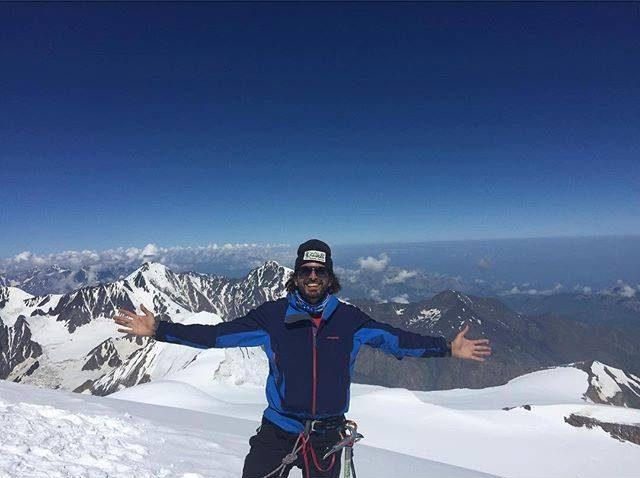 عمر سمرة المصري، أول مغامر بالعالم يتسلق 3 قمم جديدة في القارة القطبية 2