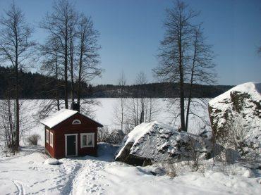 Una sauna finlandesa en Madrid