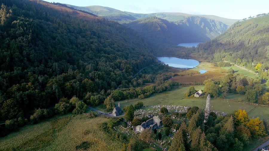 Glendalough-en-irlanda