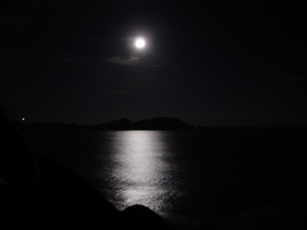 vista-de-las-islas-cies-de-noche