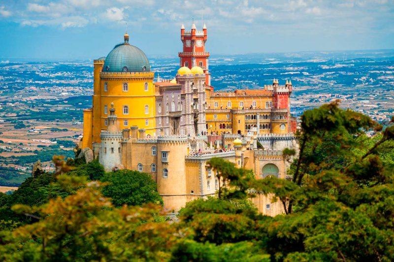 قصر-سينترا-الوطنى-فى-البرتغال
