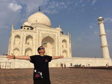 """Asomarse al Taj Mahal es lágrima garantizada"""