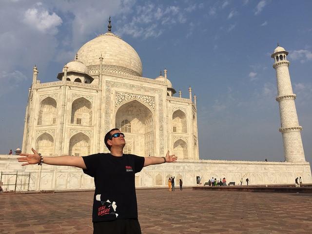 """Asomarse al Taj Mahal es lágrima garantizada"" 1"