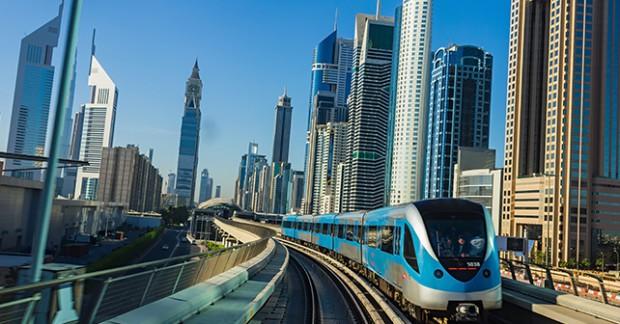 المترو-في-دبي