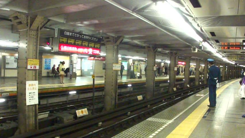 المترو-في-طوكيو