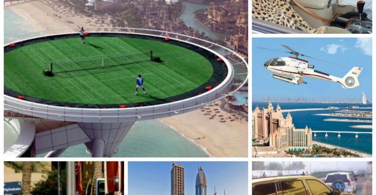 10 أشياء جنونية لن تراها خارج دبي
