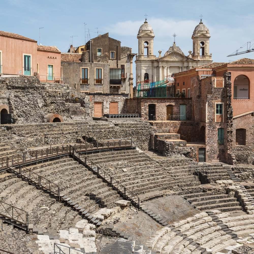 Roman's-theatre-in-Catania