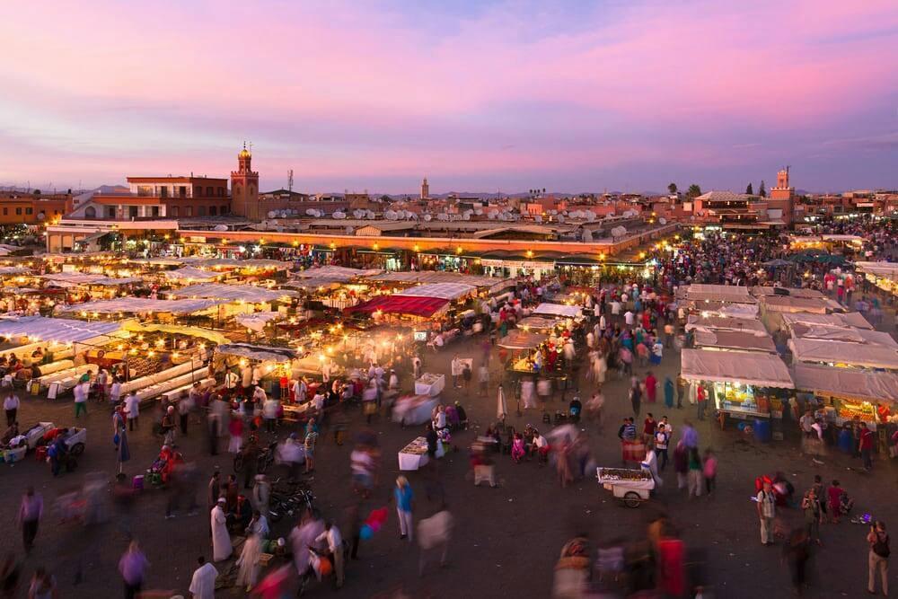 Plaza-Jemâa-el-Fna-Marrakech