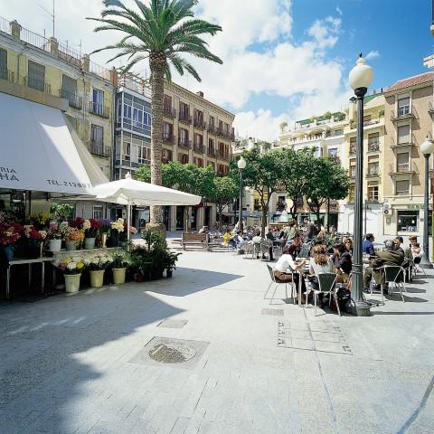 Plaza-de-las-flores-Murcia