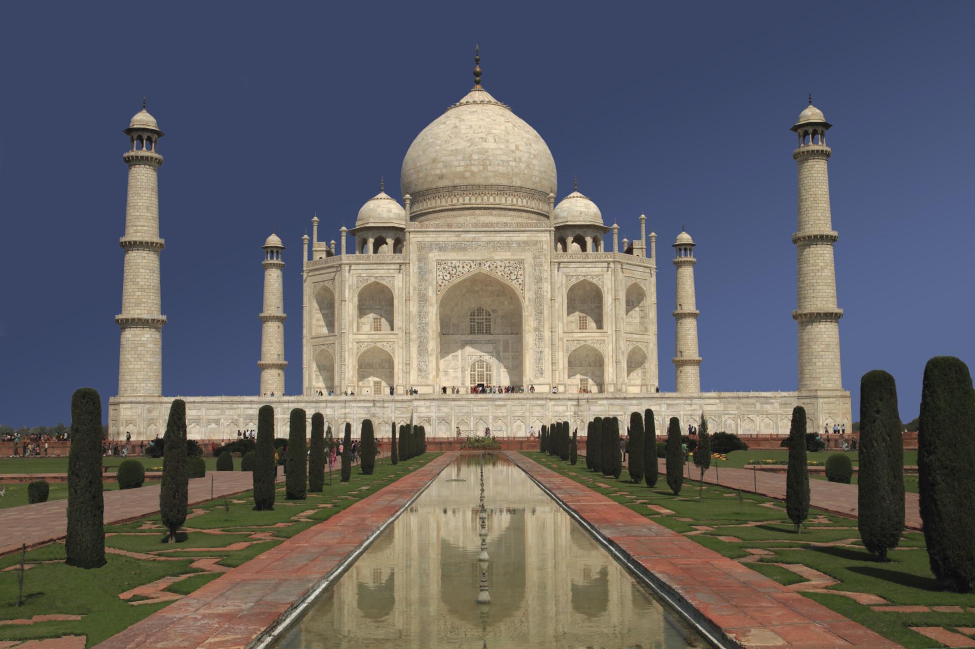 El impresionante-Taj-Majal