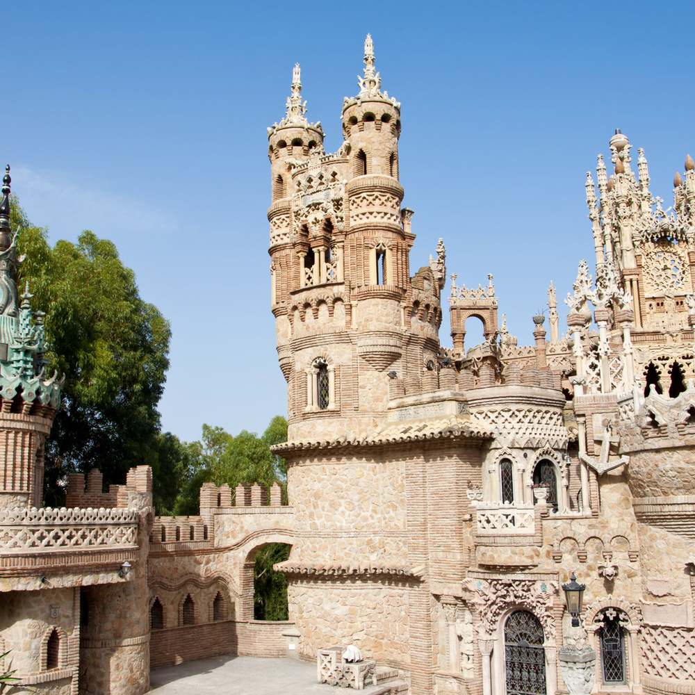 Málaga-Benalmádena-Castillo-Monumento-Colomares