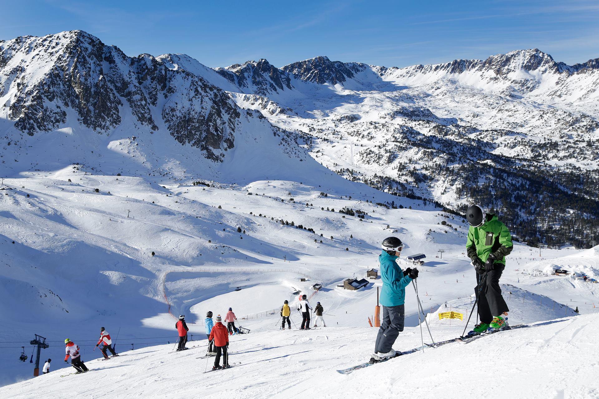 Las 9 mejores estaciones de esquí en España 2