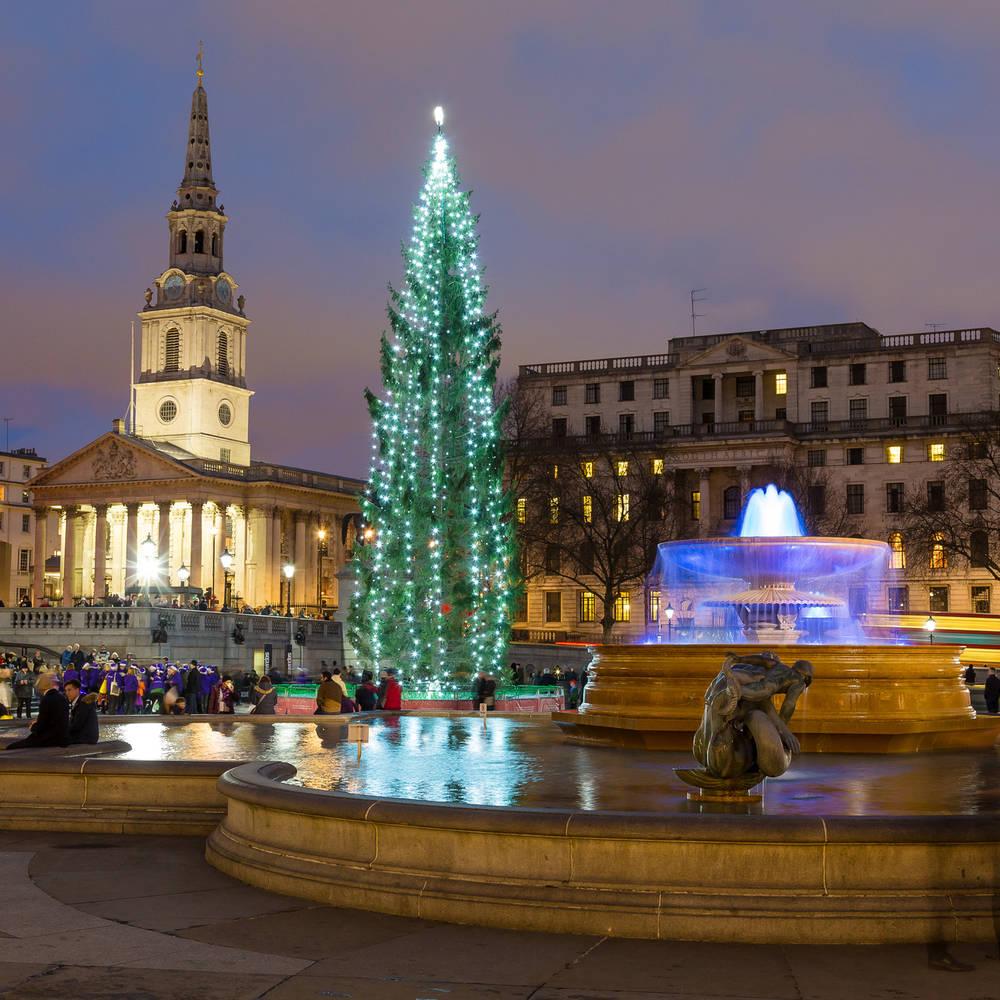 Londres_navidad_trafalgar_square