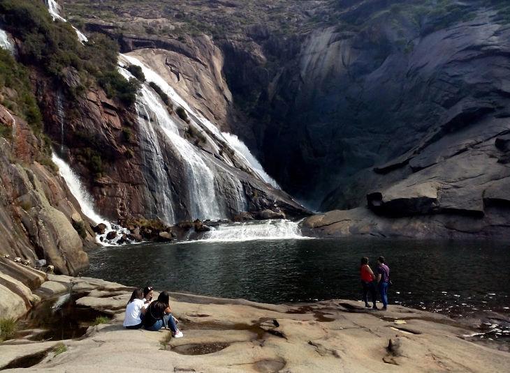 Cascadas en España - Cascada de Ézaro Blog Destinia