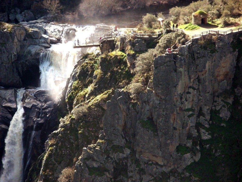 Cascadas en España - Pozos de los Humos Salamanca