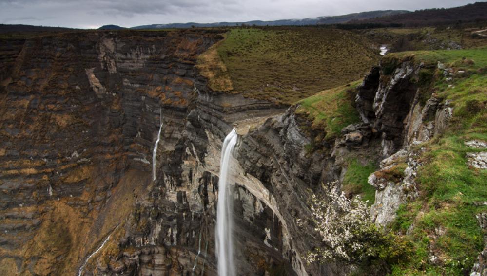 Cascadas en España - Salto del Nervión