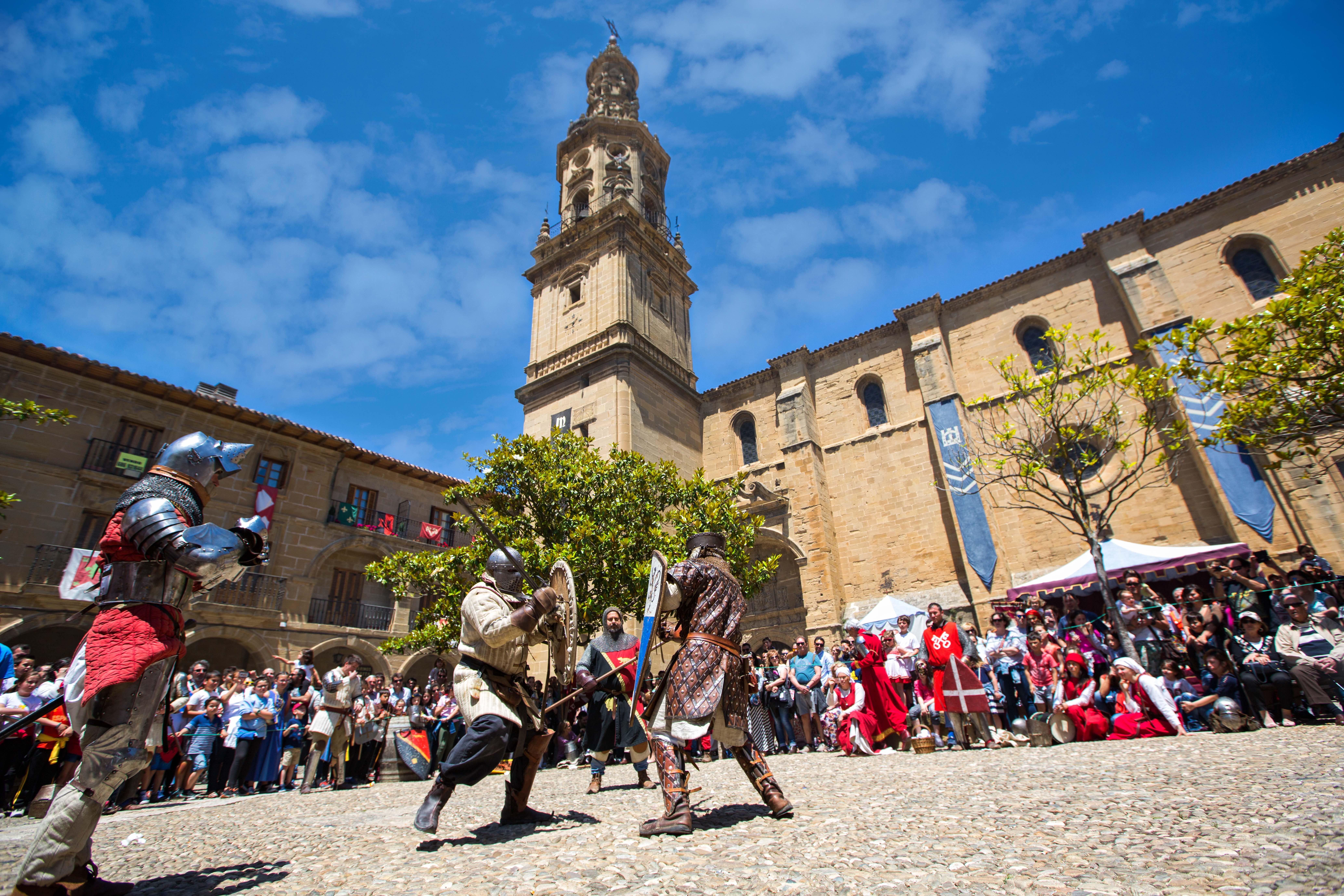 Planes en La Rioja Jornadas Medievales