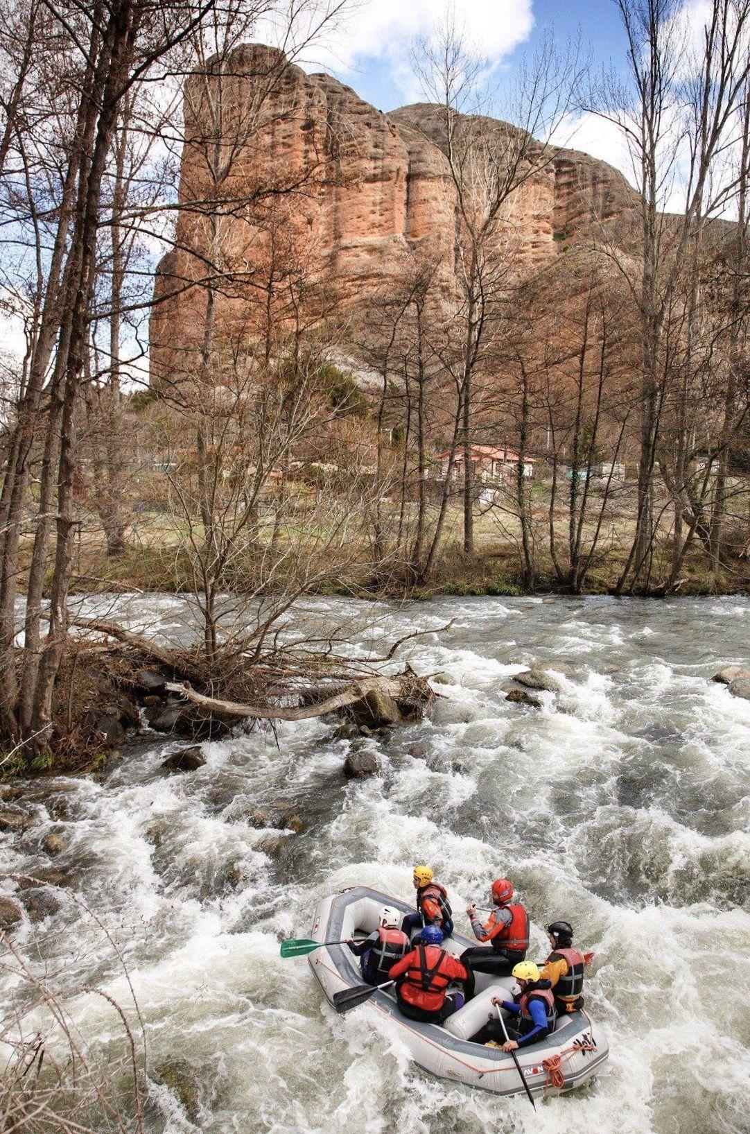 Rafting en el río Iregua de La Rioja