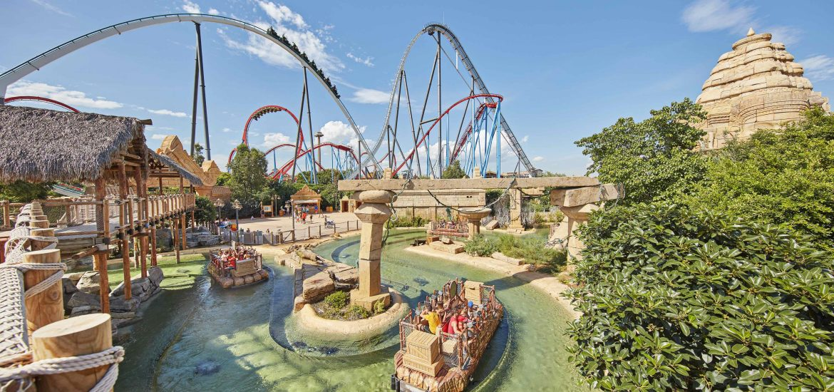 Parque de atracciones Port Aventura World