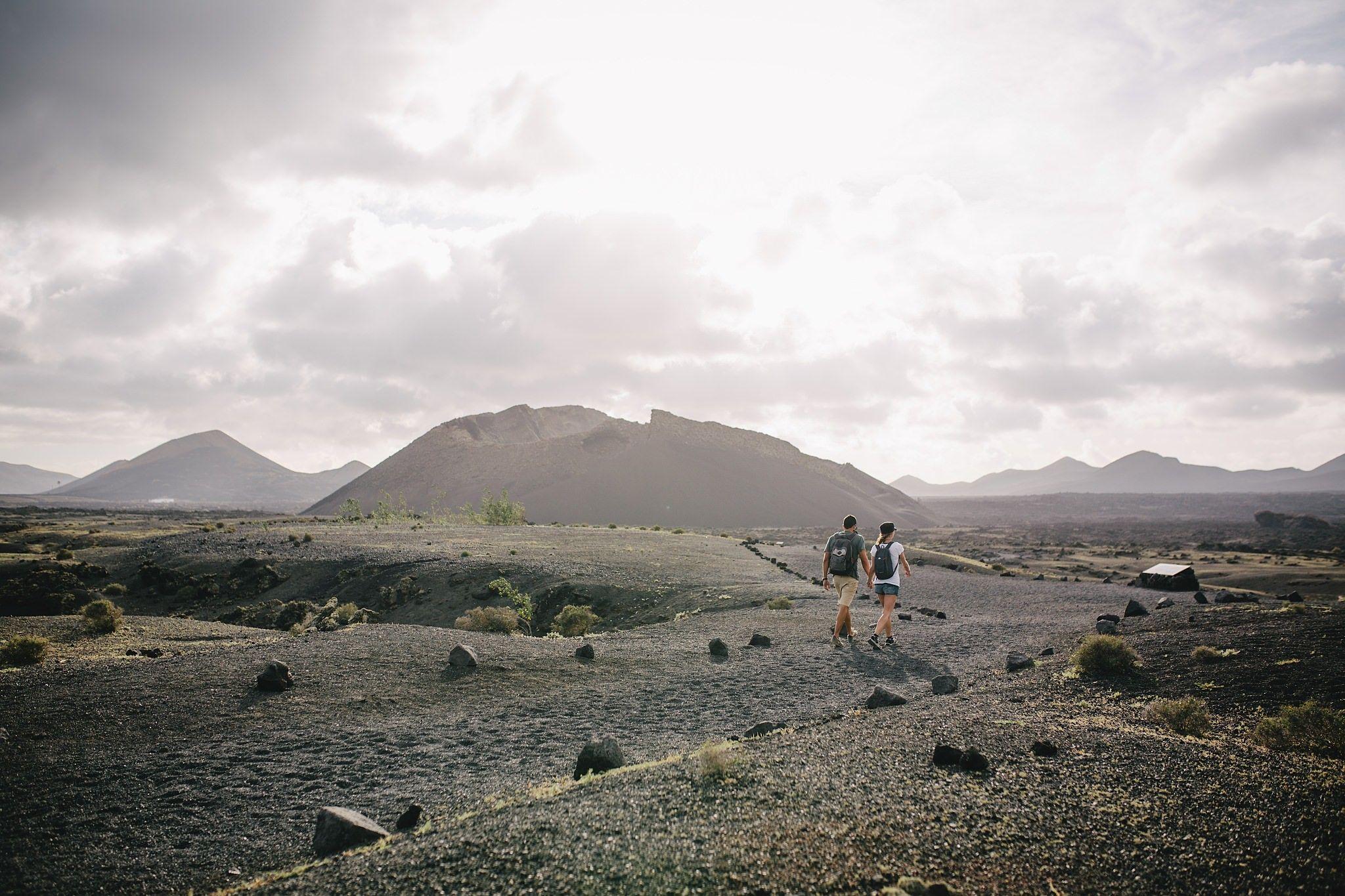 Planes de senderismo en Lanzarote