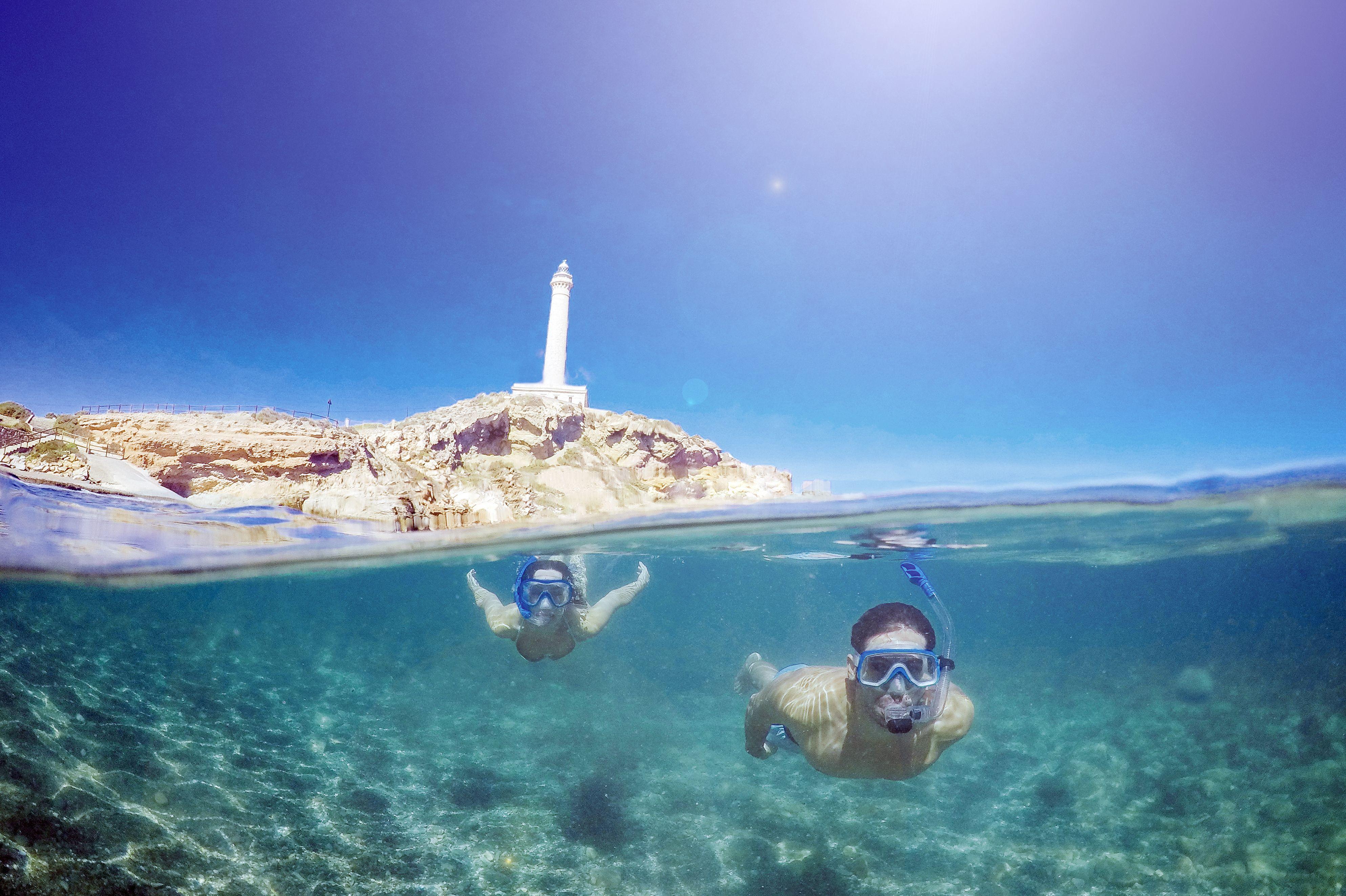 Snorkel en la Costa Cálida