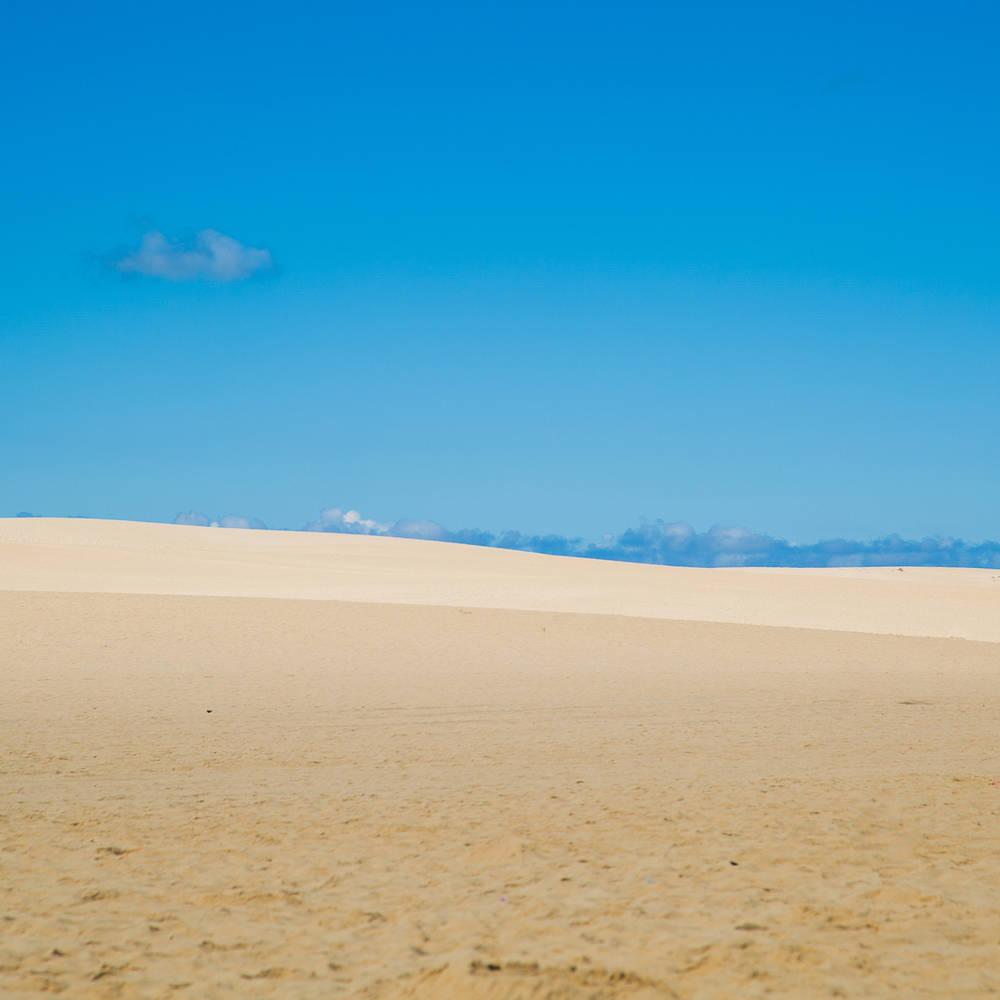 Mejores playas de fuerteventura - Playa de dunas de Corralejo en Fuerteventura