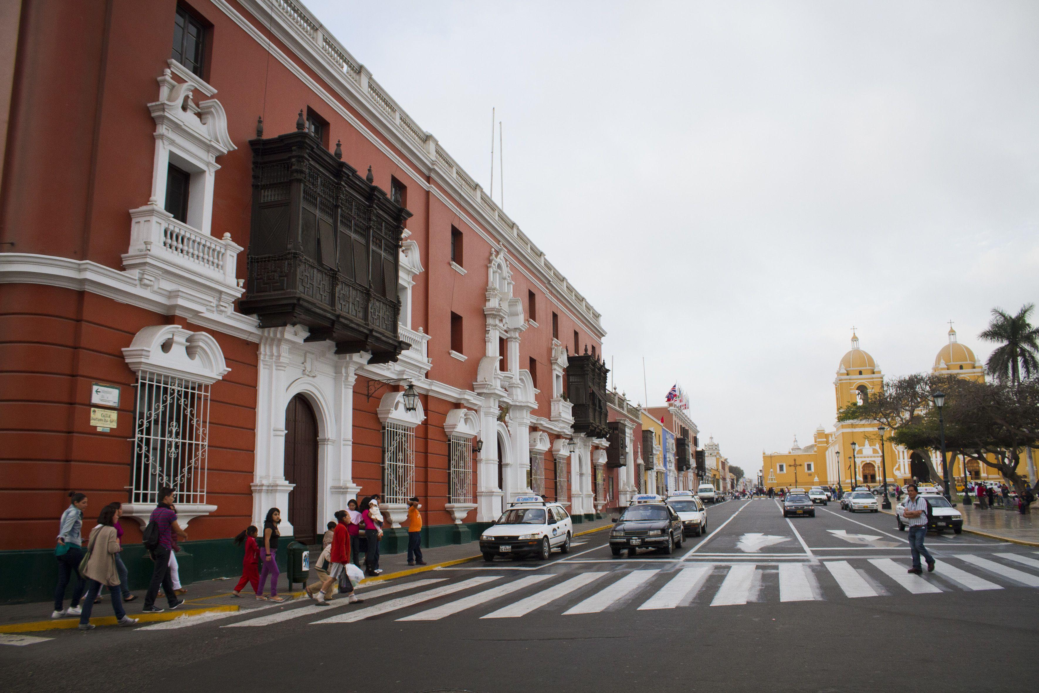 Trujillo en Perú