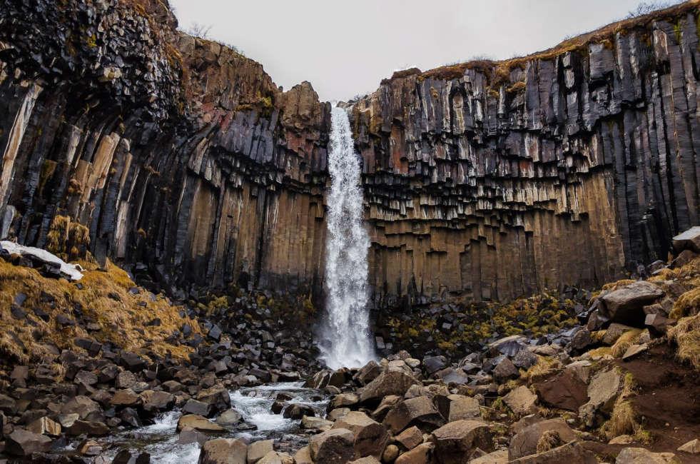cascada ruta por islandia de 7 dias