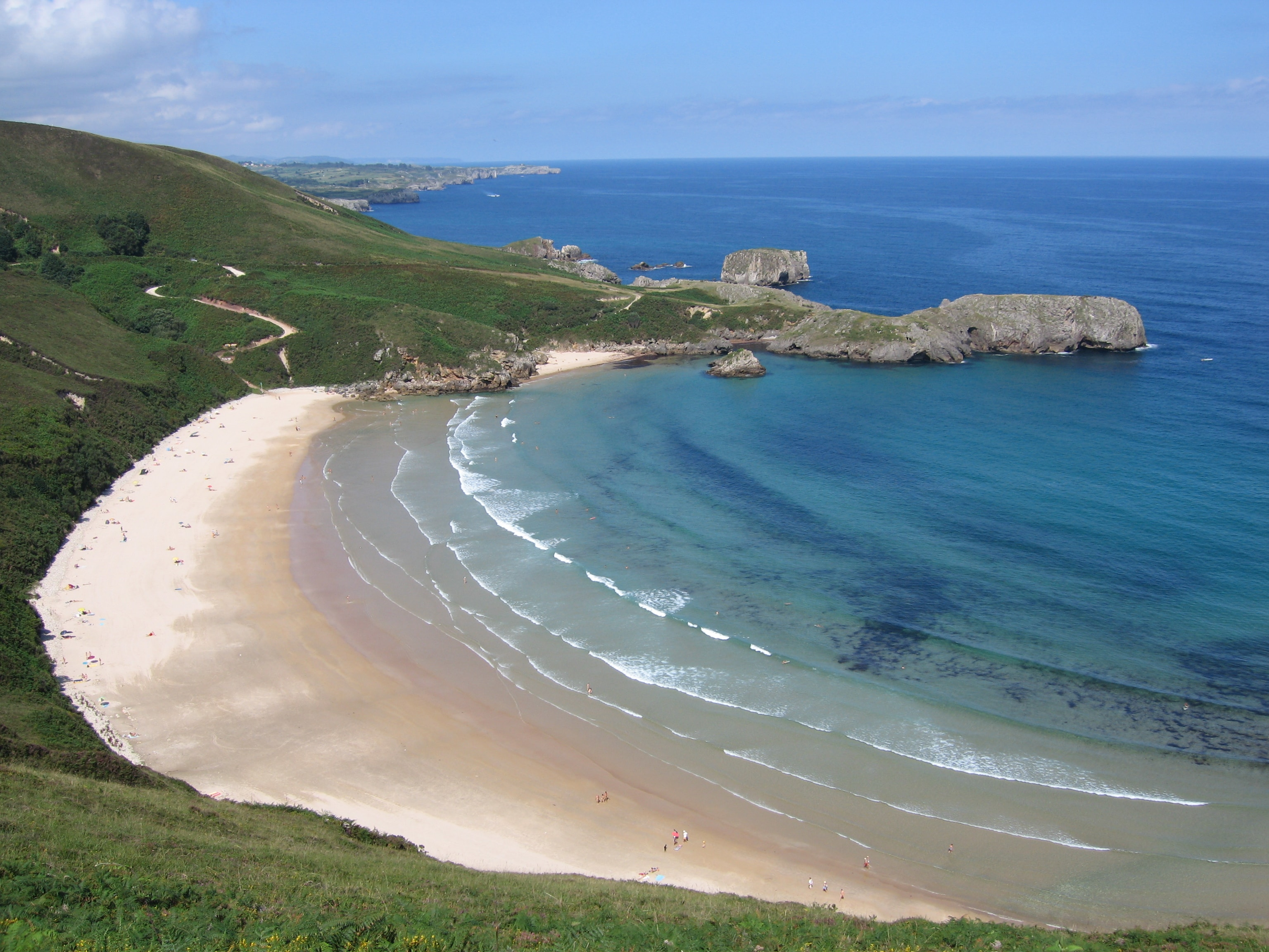 mejores playas españa torimbia