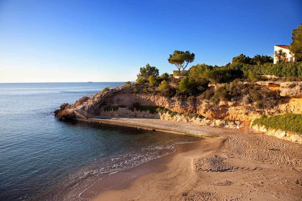 terres del ebre playa