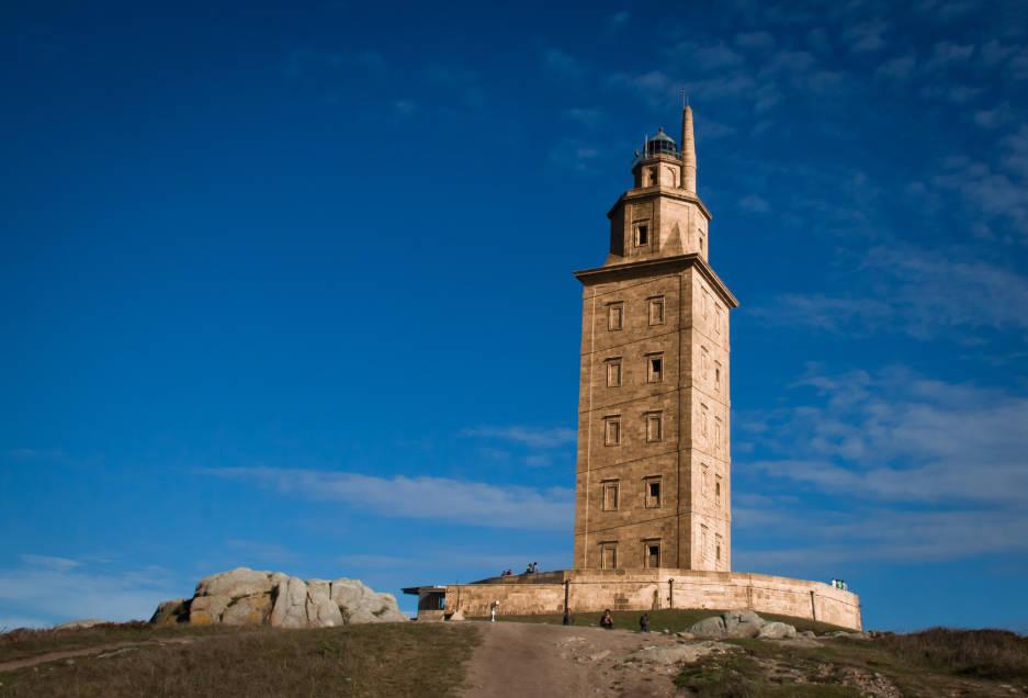 torre de hercules faros del mundo