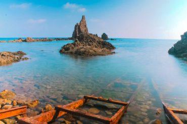 El paraíso en bruto de las playas de Cabo de Gata
