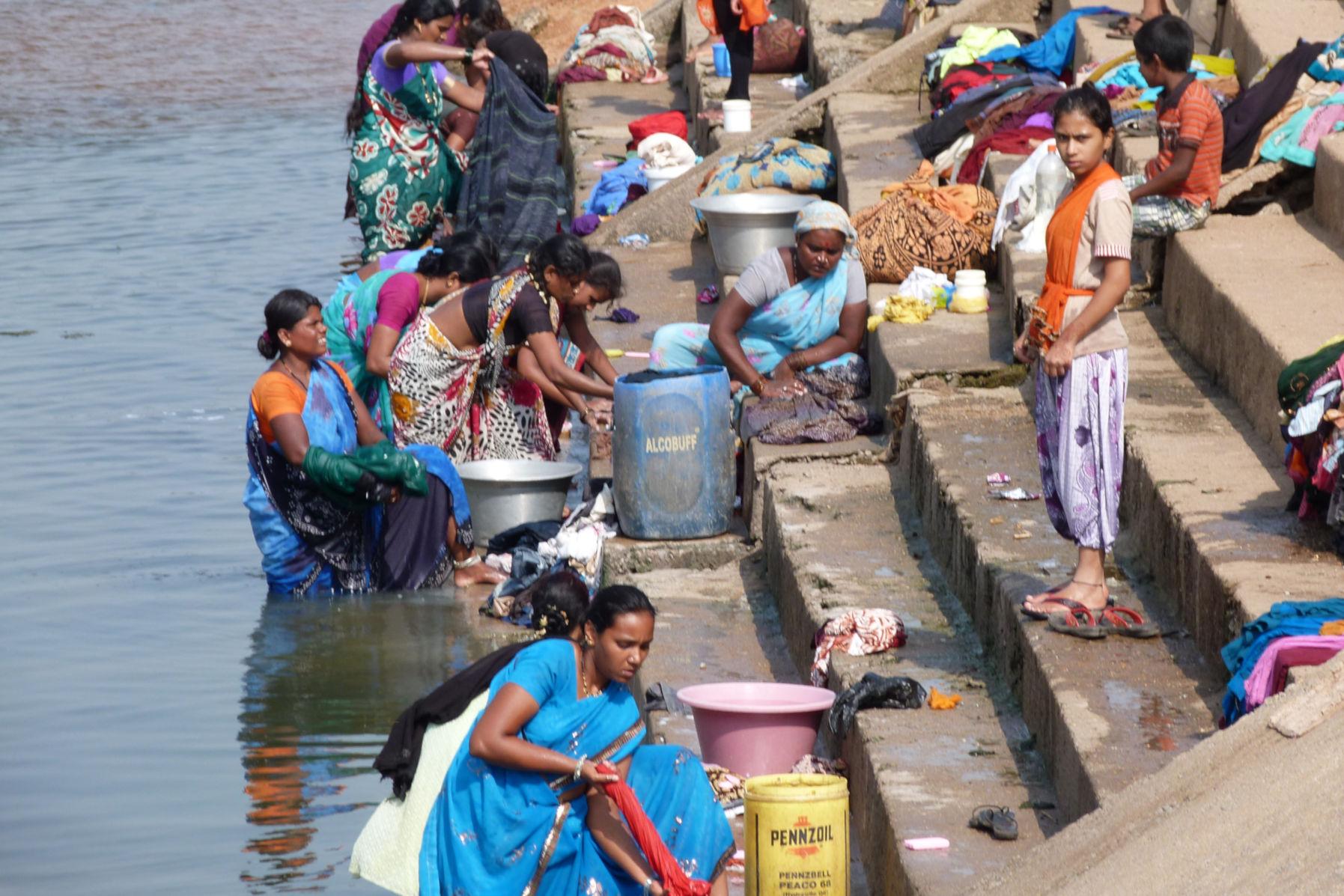 lavaderos en la india