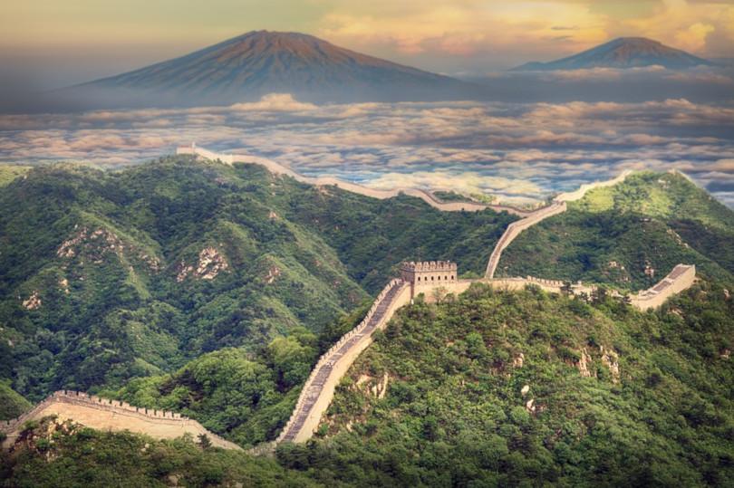 muralla china maravilla moderna