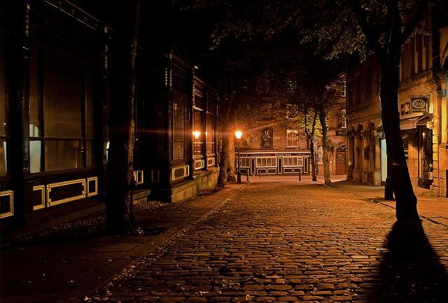 viajar solo de noche