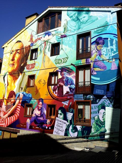 arte callejero en madrid malasaña
